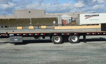 Custom Tilt Deck on Truck