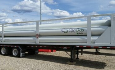 Gas Transport Magnum Trailer