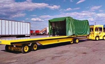 Twin Steer Cargo Trailer
